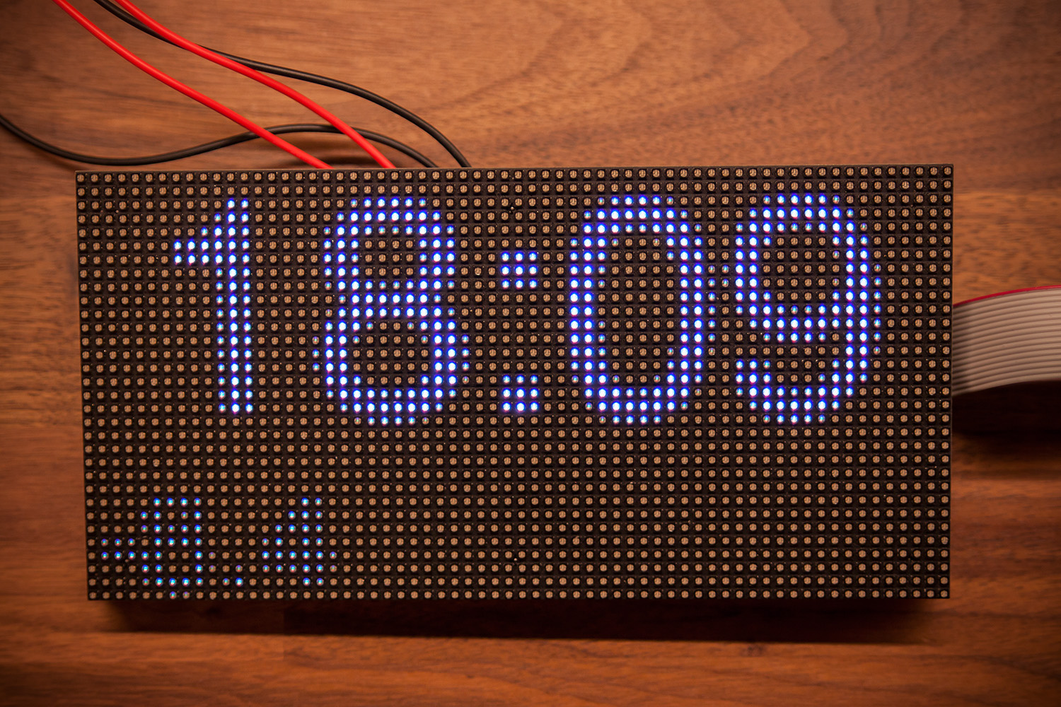 It takes two Raspberries to run a clock 8